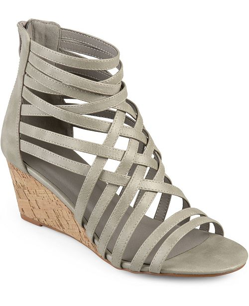 Journee Collection Women's Twyla Wedges