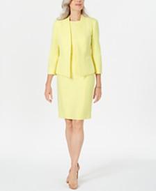 Kasper Open-Front Jacket & Sheath Dress