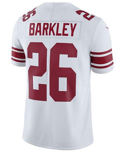 brand new 6c580 05b92 Men's Saquon Barkley New York Giants Vapor Untouchable Limited Jersey