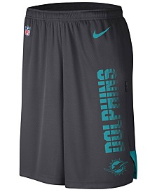 Nike Men's Miami Dolphins Player Knit Breathe Shorts