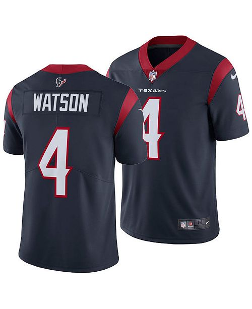 newest 7e6a8 4eb43 Men's DeShaun Watson Houston Texans Vapor Untouchable Limited Jersey