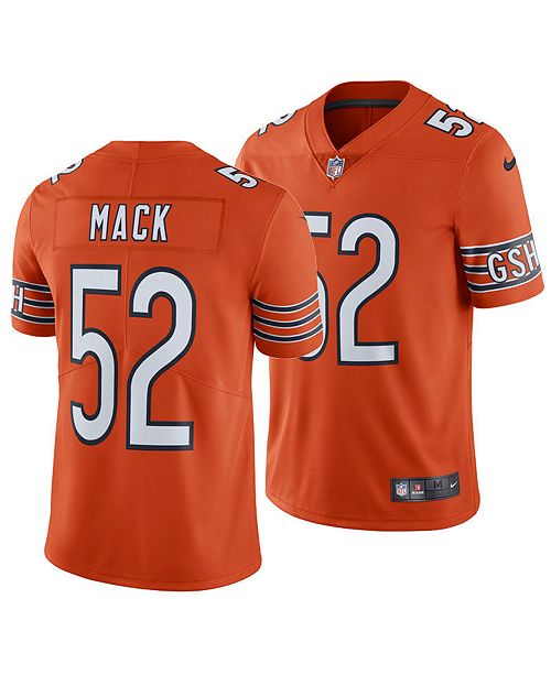 competitive price 8151d 78346 Men's Khalil Mack Chicago Bears Vapor Untouchable Limited Jersey