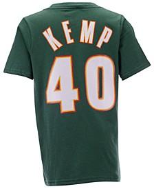 Big Boys Shawn Kemp Seattle SuperSonics Hardwood Classic Player T-Shirt