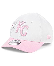 New Era Toddlers & Little Girls Kansas City Royals Minnie Heart 9FORTY Adjustable Cap