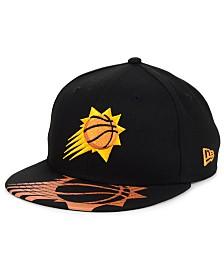 New Era Big Boys Phoenix Suns Screen 9FIFTY Adjustable Cap