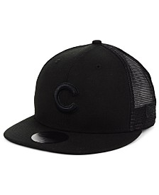 New Era Chicago Cubs Blackout Meshback 59FIFTY-FITTED Cap