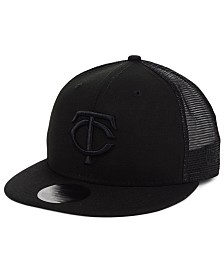New Era Minnesota Twins Blackout Meshback 59FIFTY-FITTED Cap
