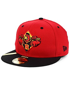 Rochester Red Wings MiLB 100TH Anniversary Patch 59FIFTY-FITTED Cap