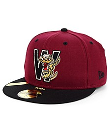 Wisconsin Timber Rattlers MiLB 100TH Anniversary Patch 59FIFTY-FITTED Cap