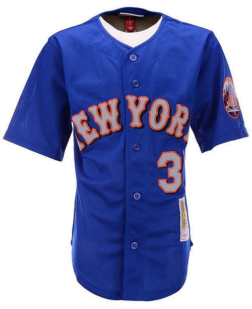 quality design bab3d dd009 Big Boys Mike Piazza New York Mets Mesh V-Neck Player Jersey
