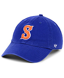 '47 Brand Syracuse Mets CLEAN UP Strapback Cap
