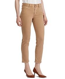 Petite Premier Straight-Leg Ankle Jeans