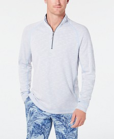Men's Barrier Beach Reversible Quarter-Zip Thermal Sweatshirt