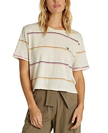Billabong Juniors' Cotton Striped T-Shirt