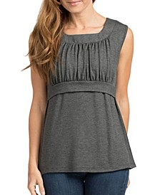 Blake Pull-Up Lounge Nursing Tank Top