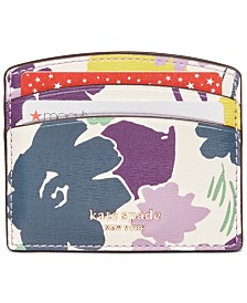 Kate Spade New York Syliva Swing Flora Card Holder