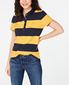 Tommy Hilfiger Rugby Piqué Polo Shirt