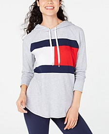 Colorblock Lightweight Flag Hoodie