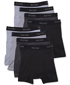 Hanes Men's 8-Pk. Platinum Boxer Briefs