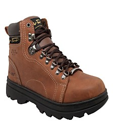 "AdTec Men's 6"" Steel Toe Hiker Boot"