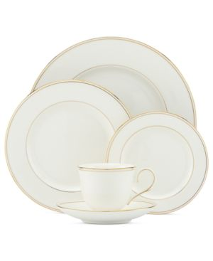 Lenox Dinnerware, Federal Gold 5 Piece Place Setting