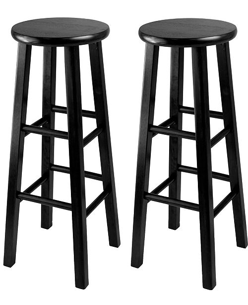"Winsome Wood Pacey 2-Piece 29"" Bar Stool Set"