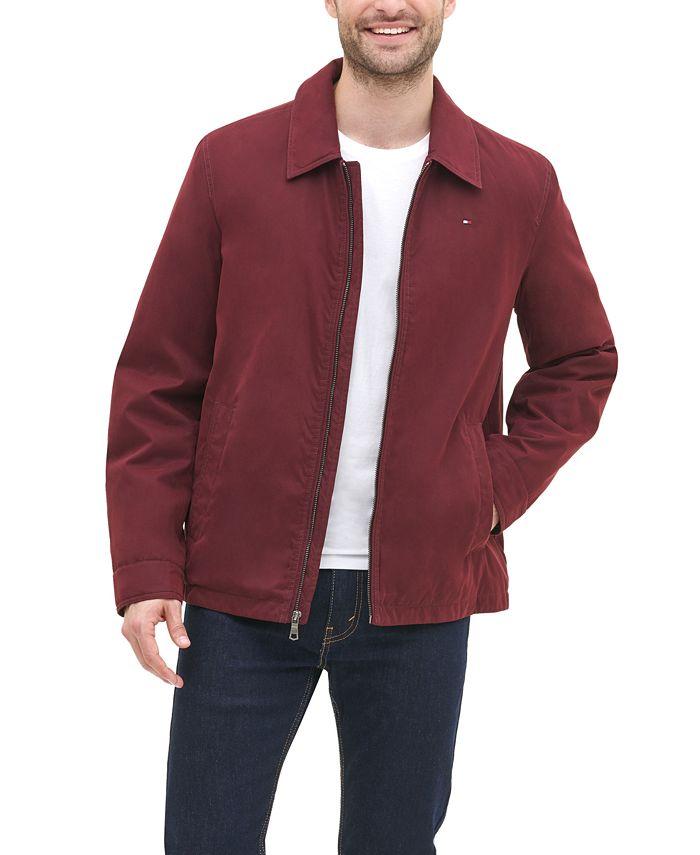 Tommy Hilfiger - Full-Zip Micro-Twill Jacket
