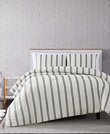 Millennial Stripe Full/Queen Comforter Set