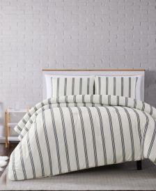 Millennial Stripe Full/Queen Comforter Set