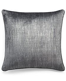 "Printed Velvet 22"" x 22"" Decorative Pillow, Created for Macy's"