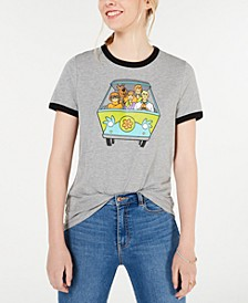Juniors' Scooby-Doo Graphic T-Shirt
