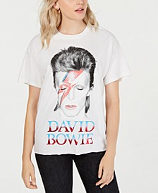 Cotton David-Bowie-Graphic T-Shirt