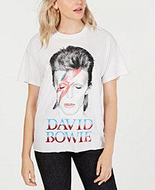 True Vintage Cotton David-Bowie-Graphic T-Shirt