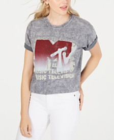 True Vintage Cotton MTV-Graphic T-Shirt