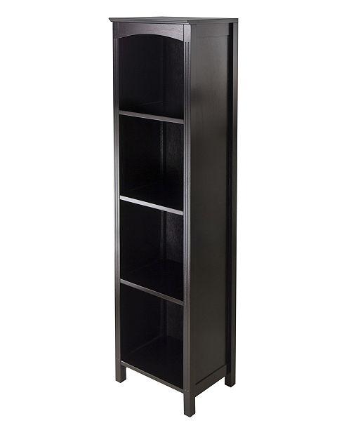 Winsome Wood 5-Tier Terrace Storage Shelf