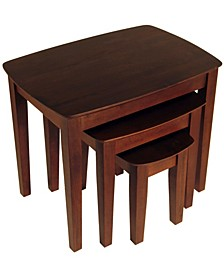 Wood Bradley 3-Piece Nesting Table Set
