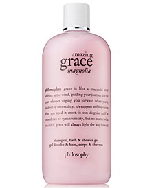 Amazing Grace Magnolia Shampoo, Bath & Shower Gel, 16-oz.