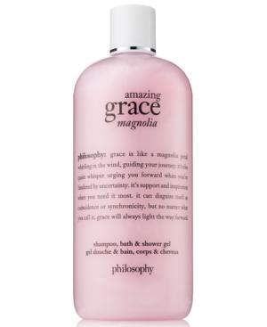 philosophy Amazing Grace Magnolia Shampoo, Bath & Shower Gel, 16-oz.