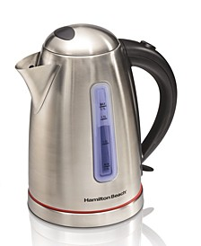 1.7-L Stainless Steel Electric Kettle