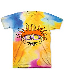 Tie Dye Rugrats Chuckie Men's Graphic T-Shirt