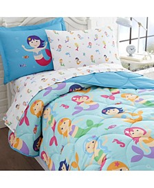 Wildkin's Mermaids 5 Pc Bed in a Bag - Twin