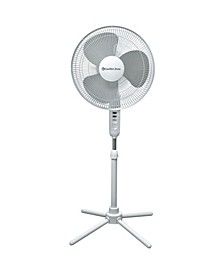 "Czst161Bte 16"" Oscillating Pedestal Quad Pod Fan"