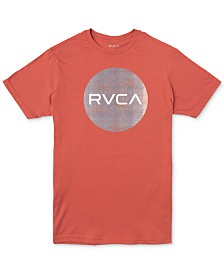 RVCA Men's Motors Mix Logo Graphic T-Shirt