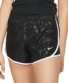 Nike Big Girls Printed Dri-FIT Shorts