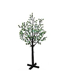 International 7.5 ft. Artificial Tree with 720 Multi-Color changing LED Lights