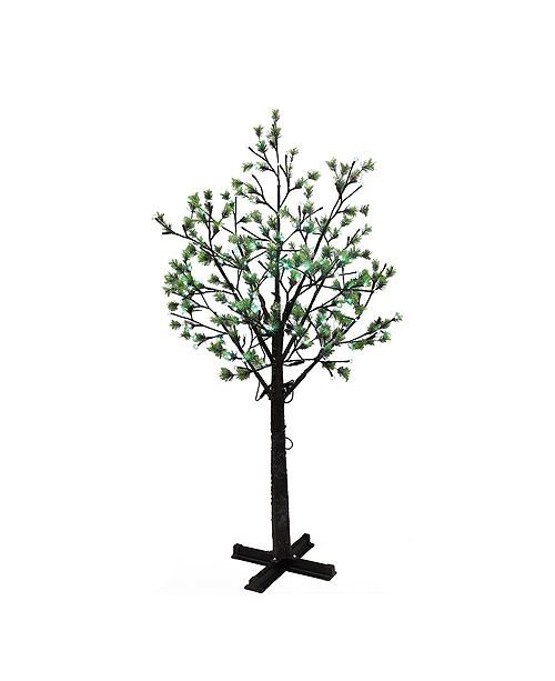Puleo International 7.5 ft. Artificial Tree with 720 Multi-Color changing LED Lights