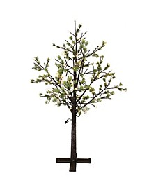 International 6.5 ft. Artificial Tree with 450 Warm White LED Lights