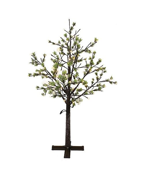 Puleo International 6.5 ft. Artificial Tree with 450 Warm White LED Lights