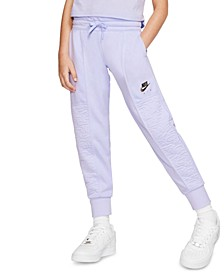Big Girls Air Fleece Textured Jogger Pants
