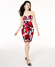 Juniors' Sweetheart Bodycon Dress, Created for Macy's